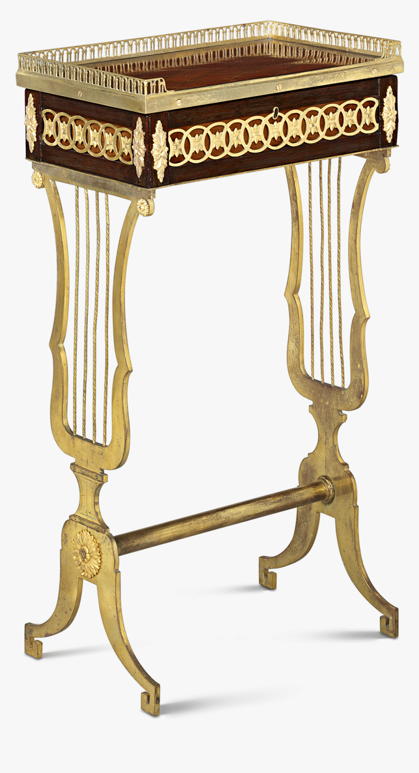 French Empire Jewelry Table - French Empire Furniture, HD Png Download, Free Download