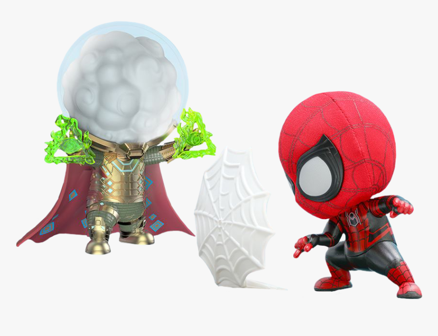 Far From Home - Hot Toys Cosbaby Spiderman Far From Home, HD Png Download, Free Download