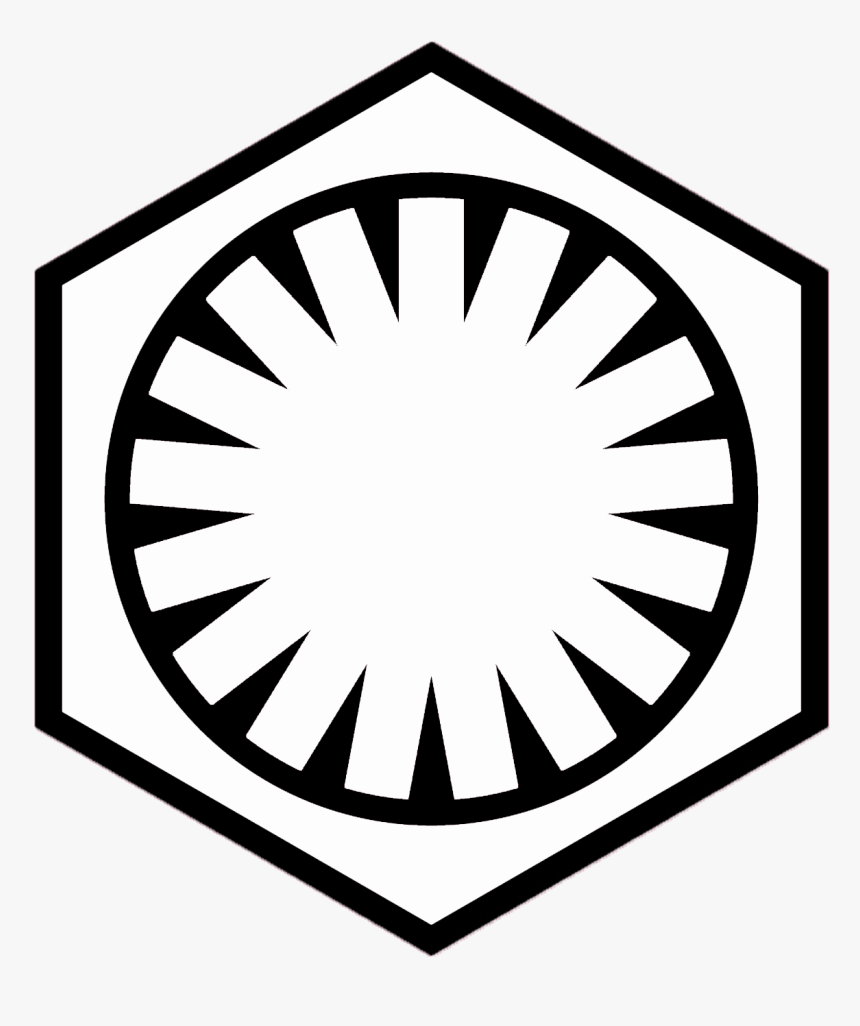 Star Wars Episode 7 Logo Png , Png Download - Star Wars Symbols First Order, Transparent Png, Free Download
