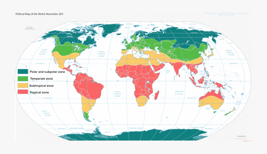 Download Climate Zones World Map World Divided Into Two Hd Png