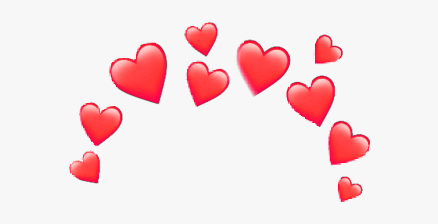 Heartcrown Crown Iphone Random - Transparent Heart Crown Png, Png Download, Free Download