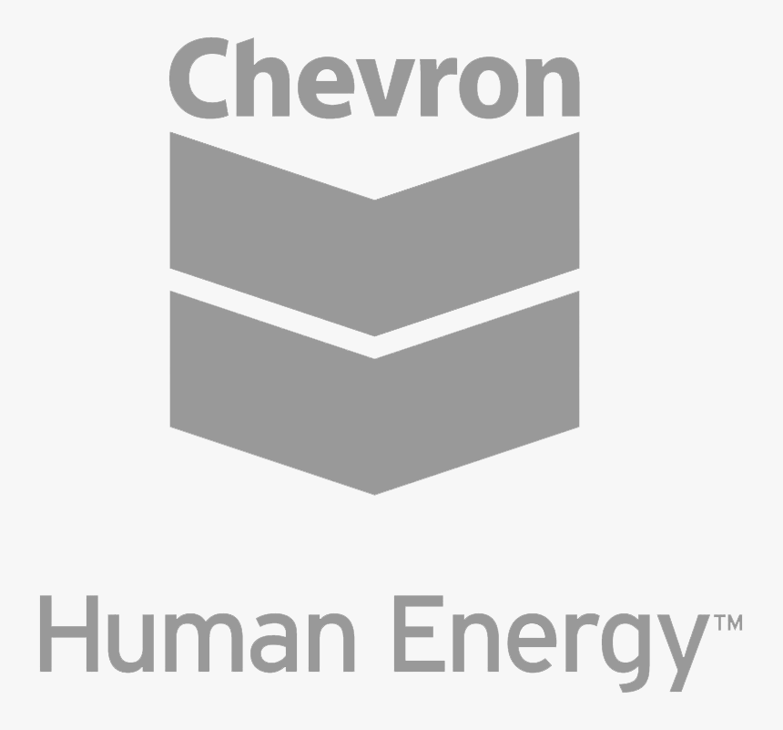 Chevron Human Energy Logo Png - Black And White Chevron Human Energy Logo, Transparent Png, Free Download