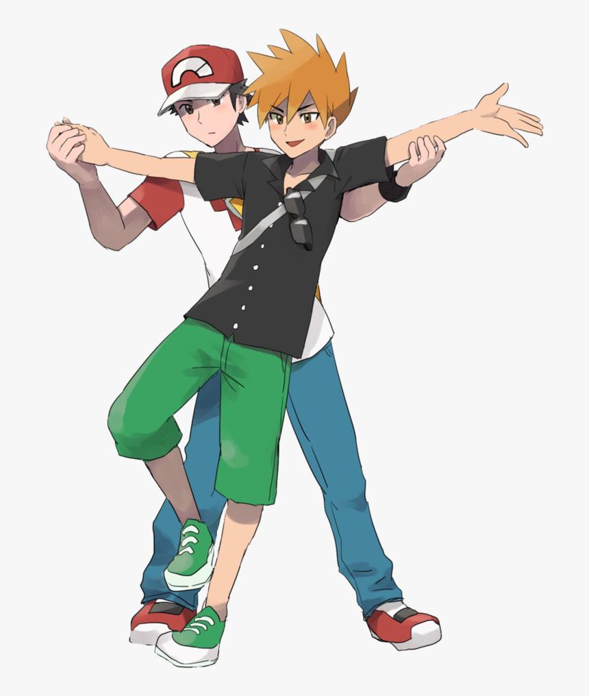 Red X Green Alola , Png Download - Pokemon Red X Blue Alola, Transparent Png, Free Download