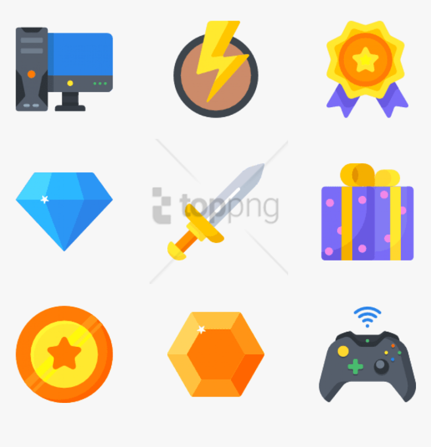 3d Game Icon Png, Transparent Png, Free Download