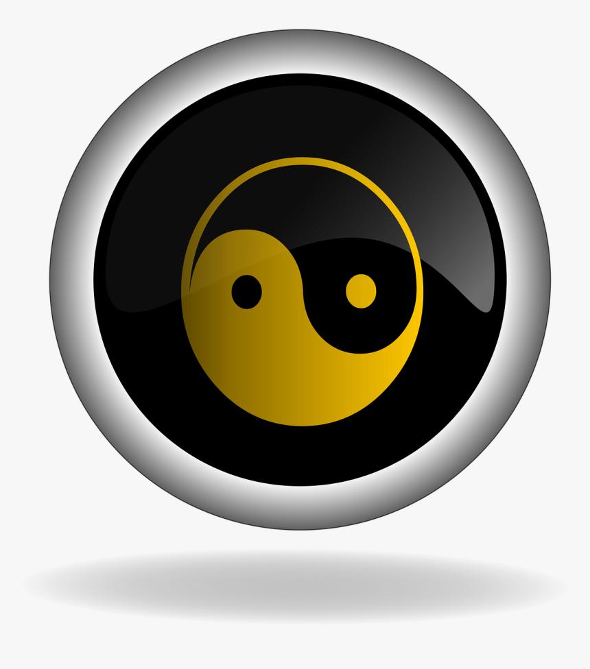 Poloche Con El Logo Del Yin Yang, HD Png Download, Free Download