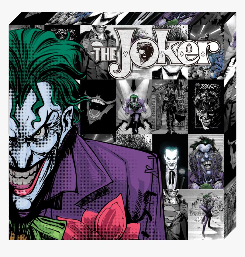 "Dc Comics, Metallic Canvas , ""joker - Joker Comic, HD Png Download, Free Download"