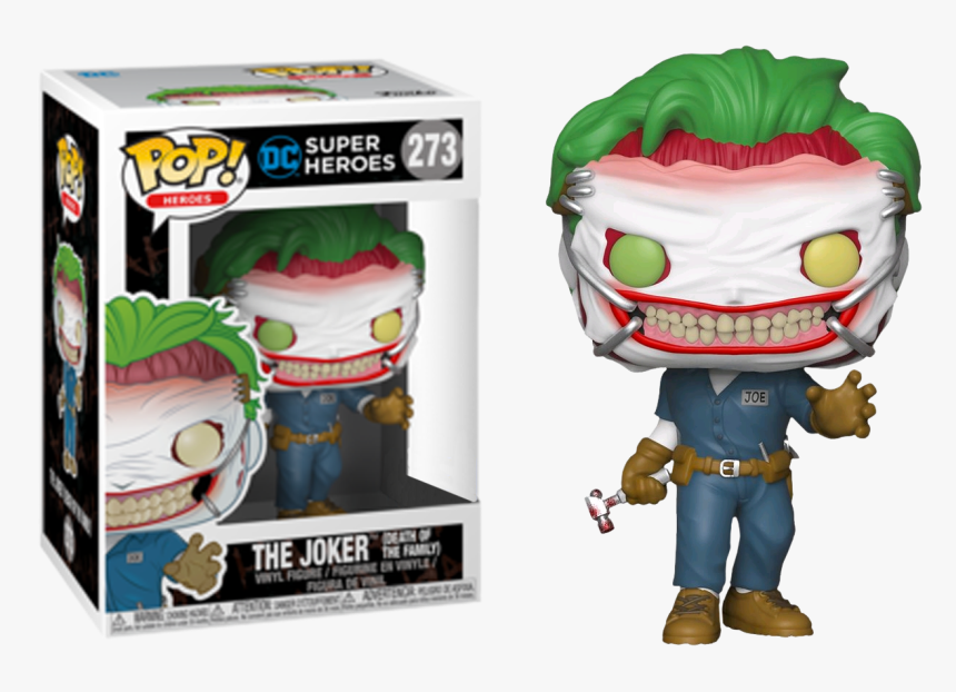 Funko Pop Joker Death Of The Family, HD Png Download, Free Download