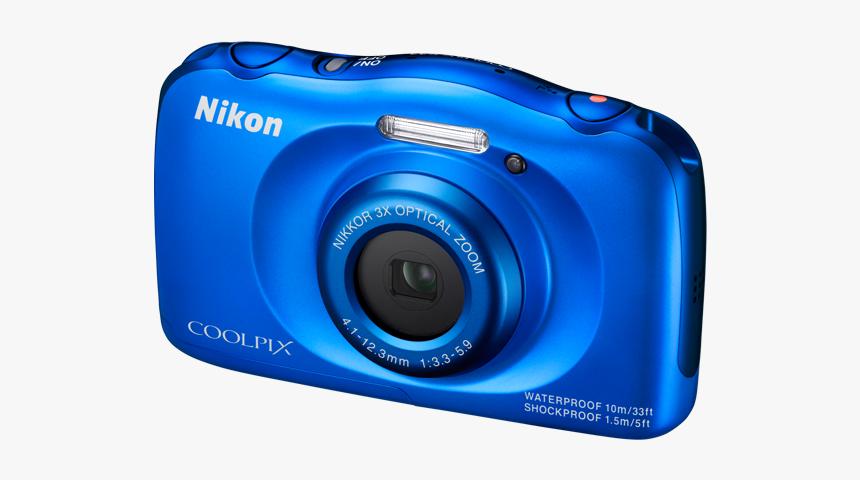 Bl - Nikon Coolpix W100 Blue, HD Png Download, Free Download