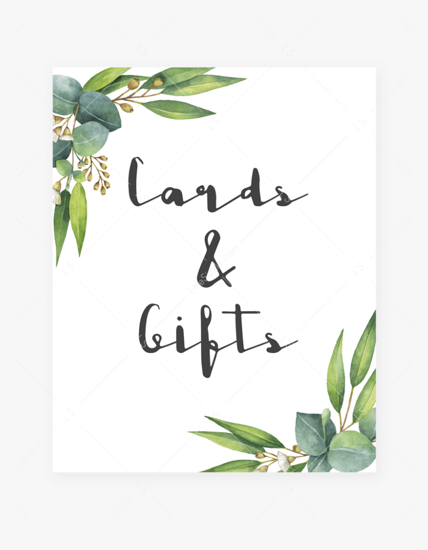 Cards Gifts Table Sign Printable By Littlesizzle Free Printable Baby Shower Gift Signs Hd Png Download Kindpng