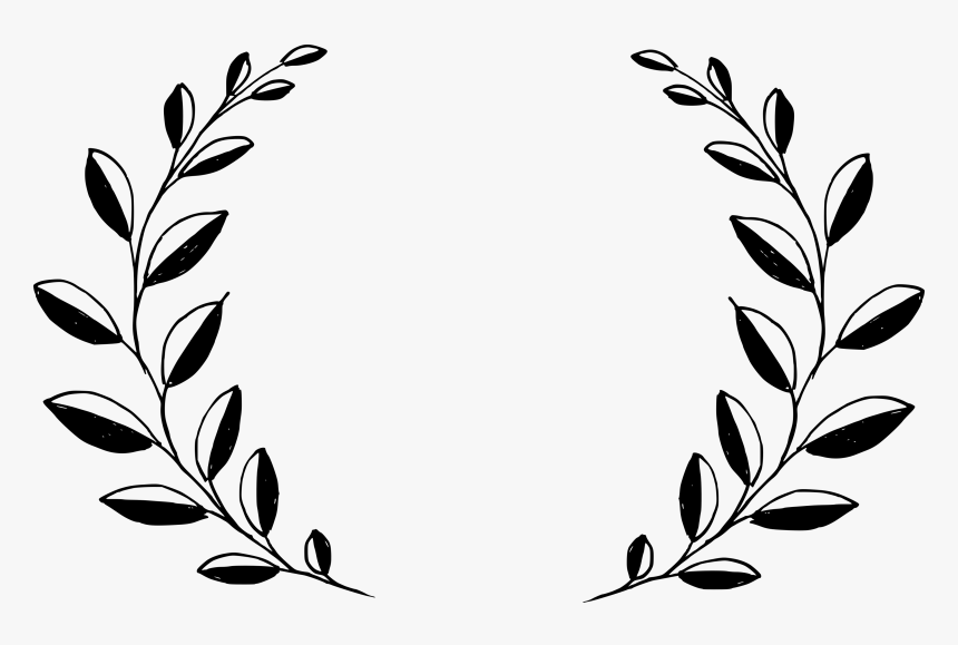 6 Drawn Wreath Vector 5, HD Png Download, Free Download