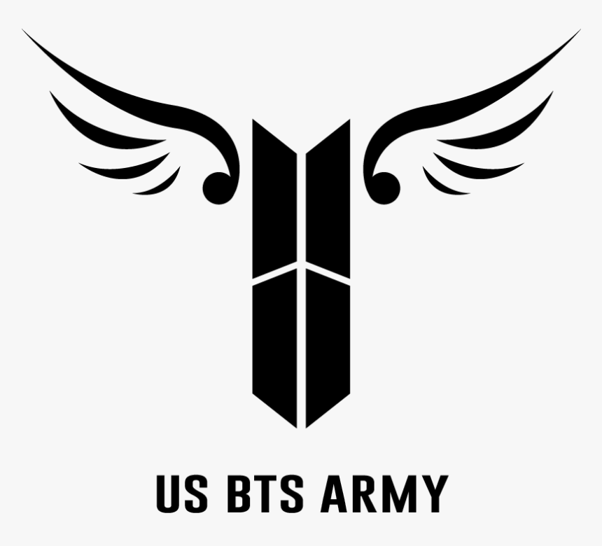 386 3866156 bts army logo wings bts army logo transparent