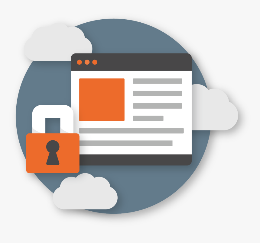 Web Security Png - Graphic Design, Transparent Png, Free Download