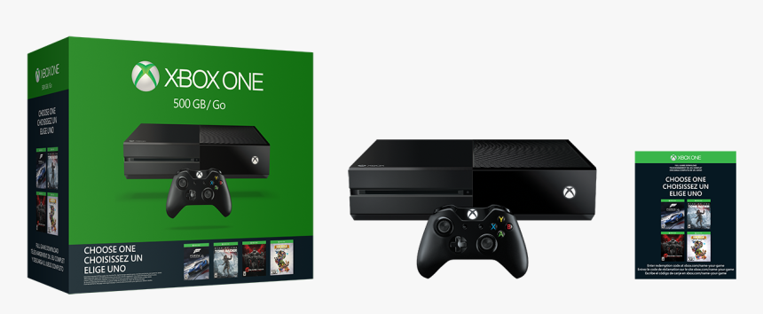 Xbox One 500gb Name Your Game Bundle - Xbox One With Rainbow Six Siege, HD Png Download, Free Download