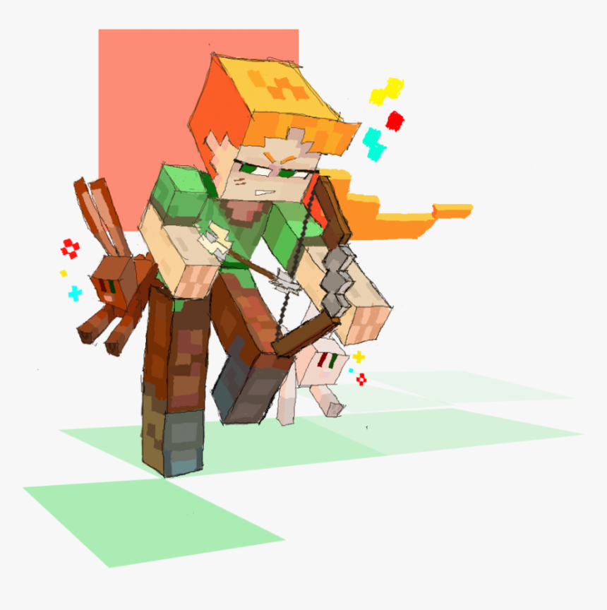 Transparent Minecraft Alex Png Minecraft Alex Fan Art Png