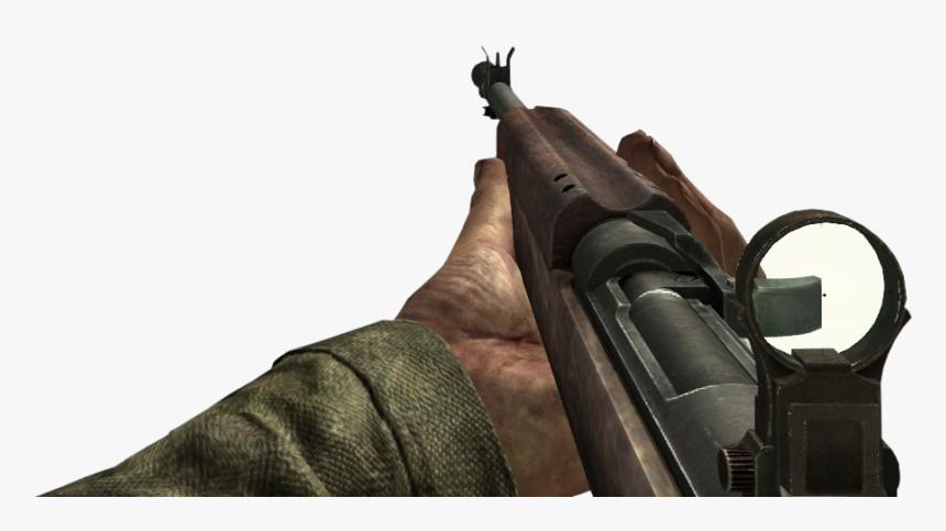 Transparent Shotgun Waw - World At War Red Dot Sight, HD Png Download, Free Download