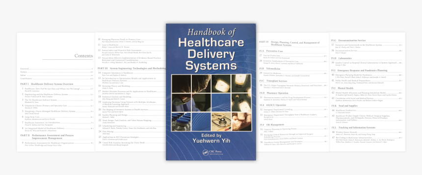 Handbook Of Healthcare Delivery Systems, HD Png Download, Free Download