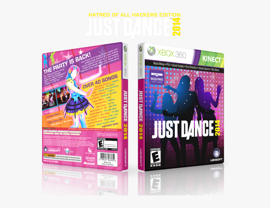 Just Dance 2014 Box Art Cover - Just Dance 2014 Xbox 360 Kinect, HD Png Download, Free Download