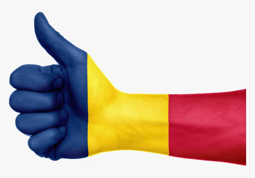 Chad Flag Hand National Fingers Patriotic Malawi Flag Png Transparent Png Kindpng