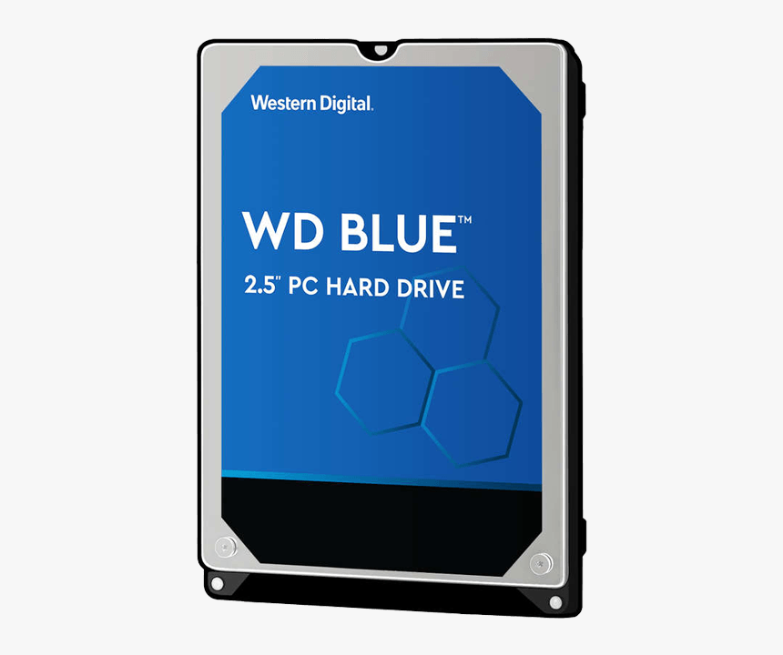 500gb Blue Wd5000lpcx, 5400 Rpm, Sata 6gb/s, 16mb Cache, - Western Digital 500gb Hdd Blue, HD Png Download, Free Download