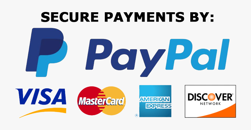 Secure Payments By Paypal, HD Png Download - kindpng