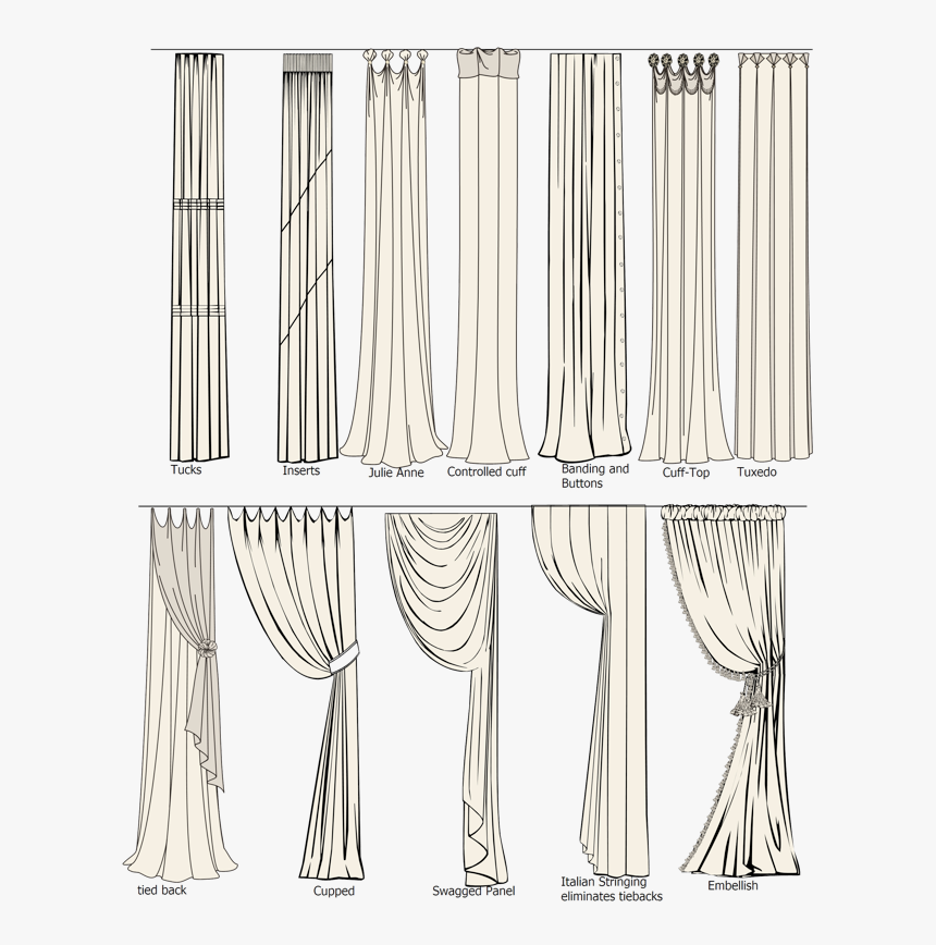 Curtain Styles Hd Png