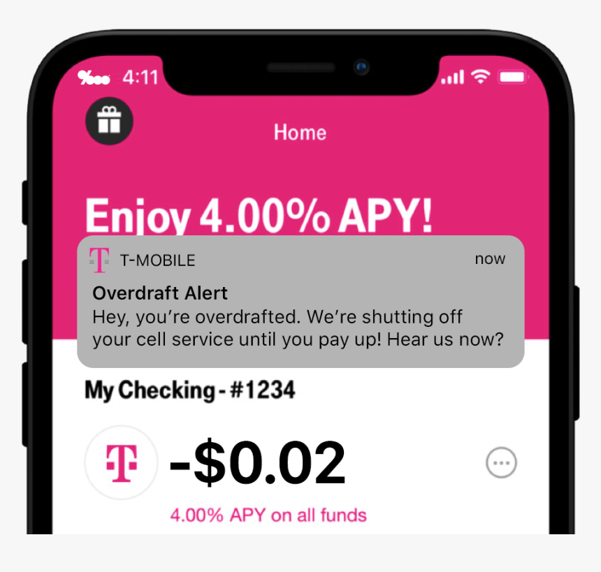 T Mobile Money Checking Account, HD Png Download, Free Download