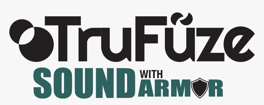 Trufuze Sound With Armor Logo - Graphic Design, HD Png Download, Free Download