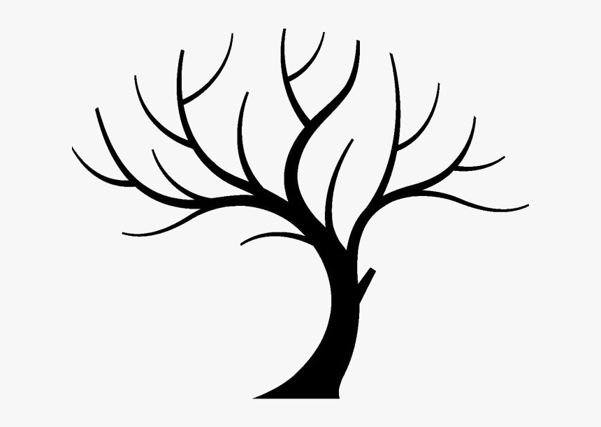 Transparent Tree Without Leaves Png For Free - Clip Art Tree Branch, Png Download, Free Download