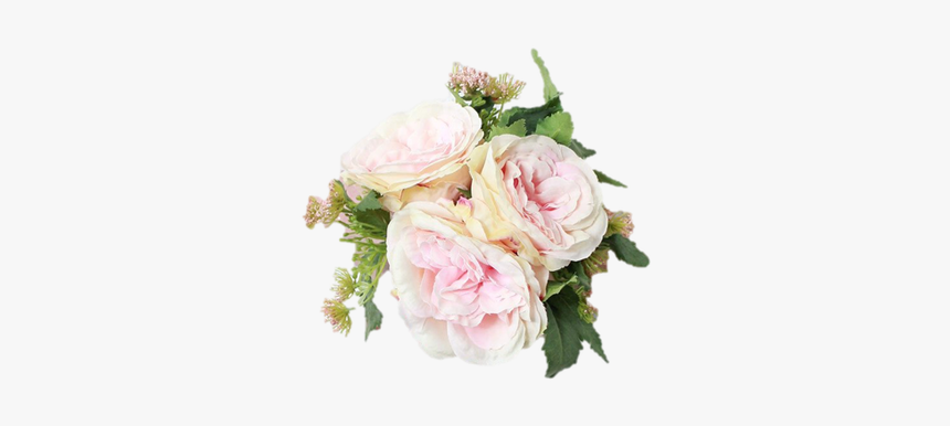 Clip Art Cottage Rose Bouquet In - Bridesmaid Bouquet Mini Rose, HD Png Download, Free Download