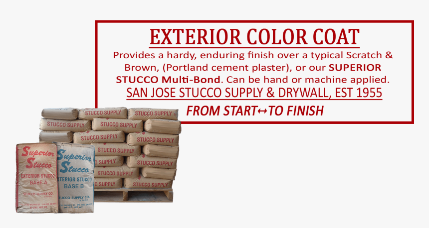 Stucco Exterior Color Coat - Box, HD Png Download, Free Download