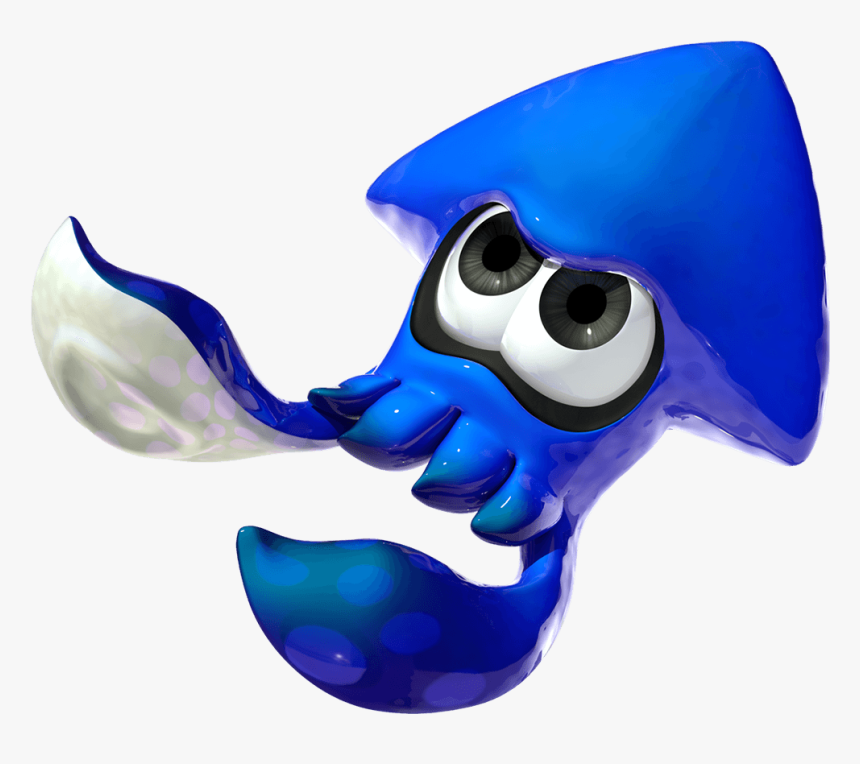 Transparent Giant Squid Clipart - Splatoon Squid, HD Png Download, Free Download