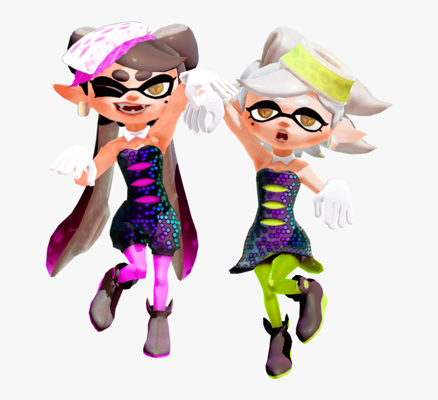 Splatoon Sisters Squid Download Free Image Clipart - Splatoon 2 Logo Squid Sisters, HD Png Download, Free Download