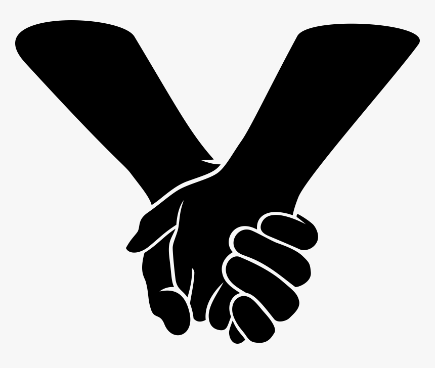 Hand Clip Art Black And White Holding Hands Cliparts Hd Png Download Kindpng Download transparent hand png for free on pngkey.com. hand clip art black and white holding