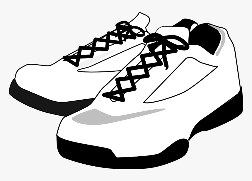 Sneakers, Tennis Shoes, Footwear, Sport, Fashion, Pair - Shoes Clip Art, HD Png Download, Free Download