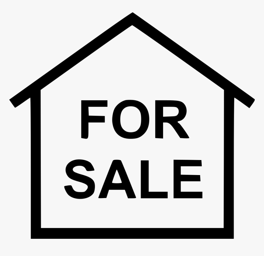 For Sale House - House For Rent Svg, HD Png Download, Free Download
