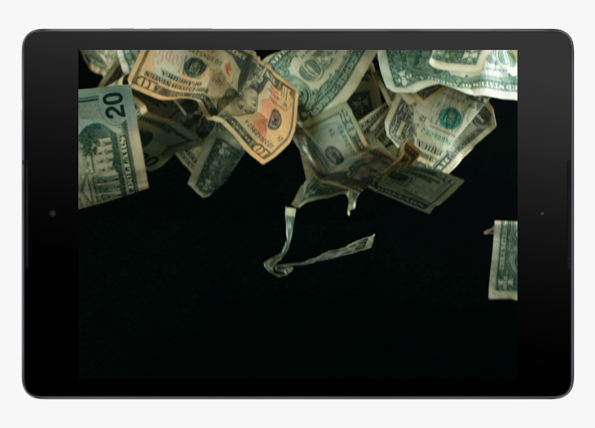 Money Falling From The Sky Png, Transparent Png, Free Download