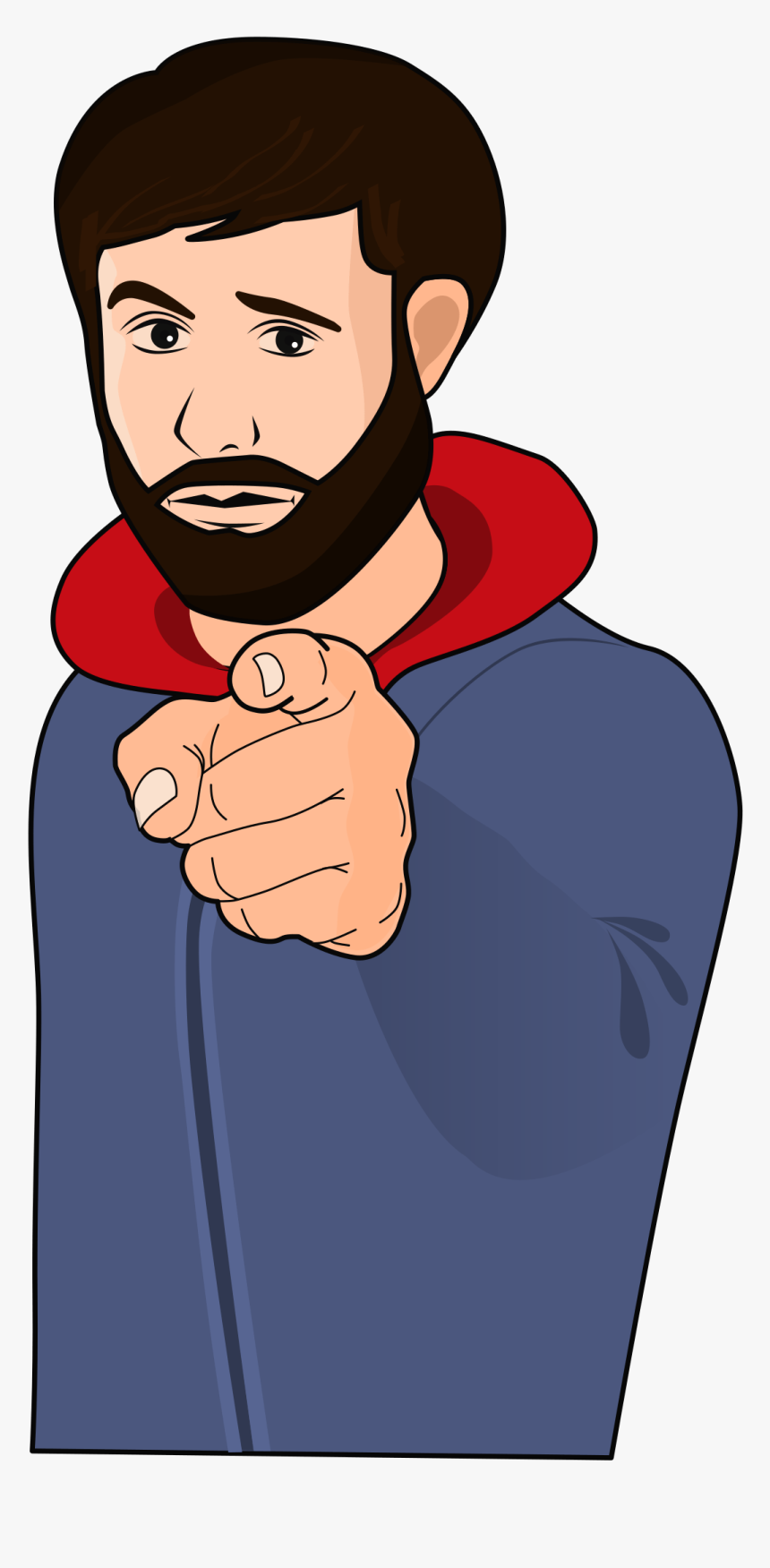 Finger Pointing At You Clip Art, HD Png Download, Free Download