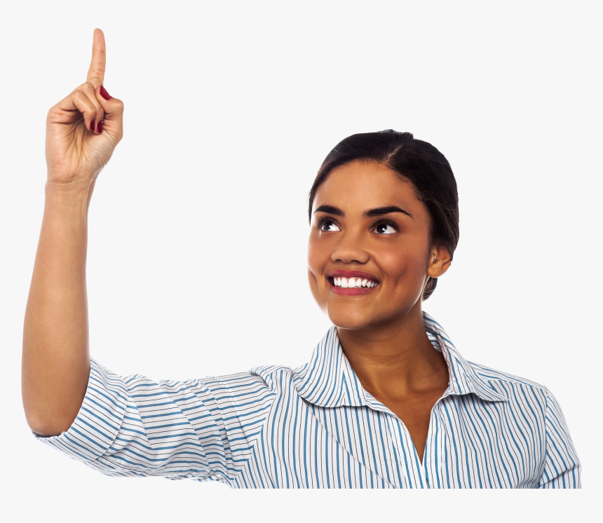 Women Pointing Top Png Photo, Transparent Png, Free Download
