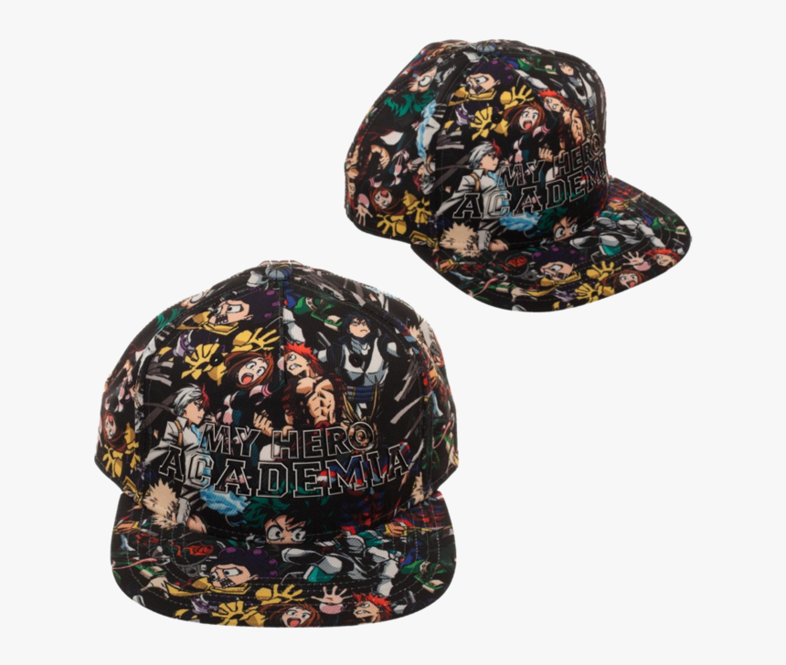 """My Hero All Over Print Snapback Hat My Hero Academia"""", HD Png Download, Free Download"""