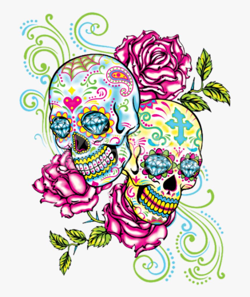 Transparent Skull Tattoos Png, Png Download, Free Download