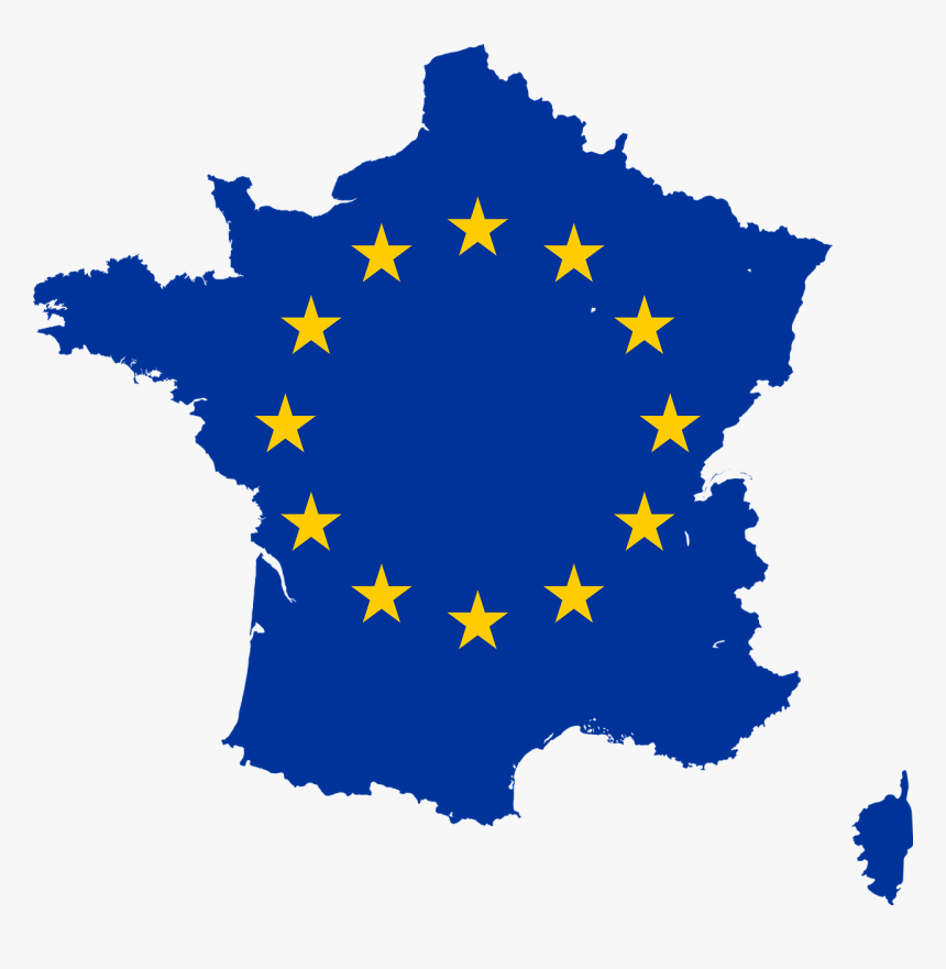 Map Of France Png Countries Of The European Union Free, Transparent Png, Free Download