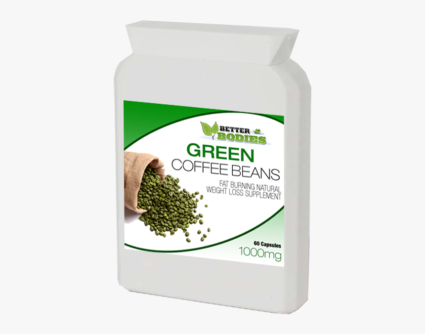 Green Coffee Bean Extract 1000mg Capsules Weight Loss Green