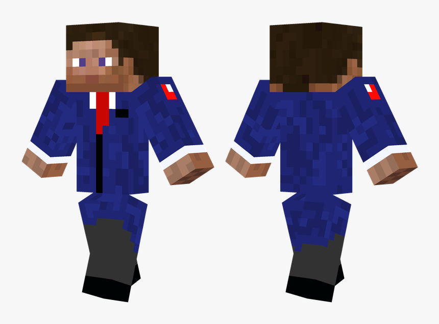 Minecraft Pulp Fiction Skin, HD Png Download, Free Download