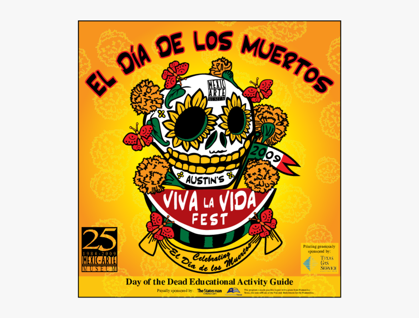 Day Of The Dead Educational Activity Guide, HD Png Download, Free Download