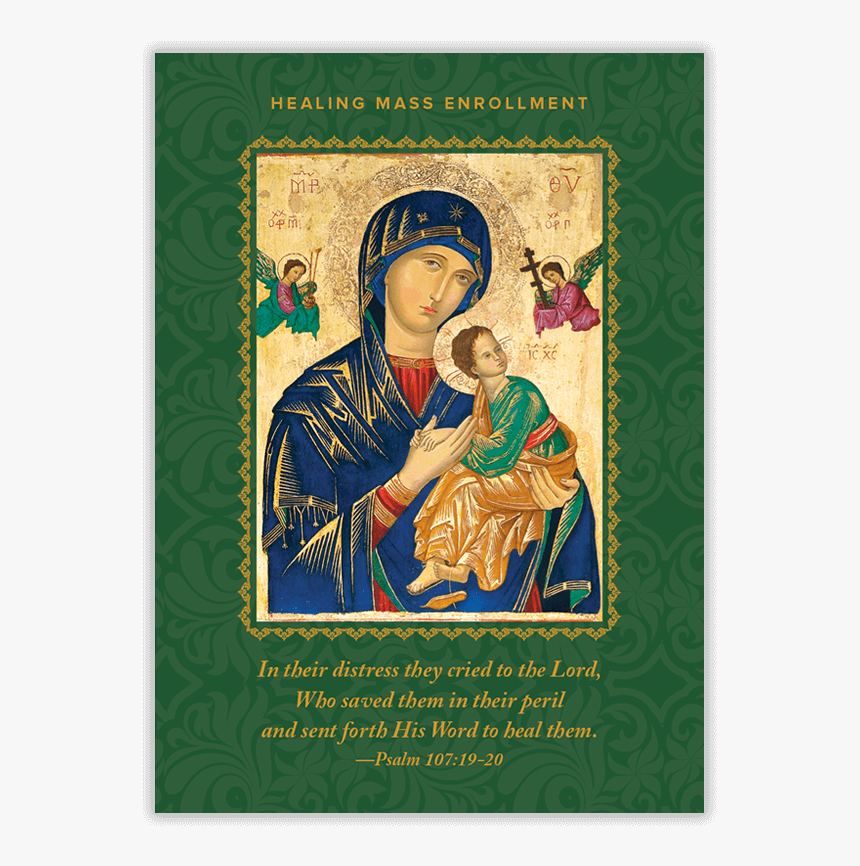 Mother Of Perpetual Help Background, HD Png Download, Free Download