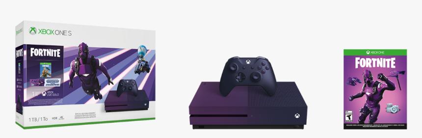 Xbox One X Fortnite Bundle - Xbox One S Fortnite Bundle, HD Png Download, Free Download