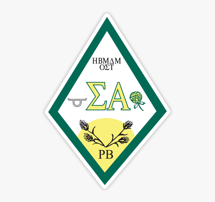 Sigma Alpha Crest - Sigma Alpha Sorority Crest, HD Png Download, Free Download