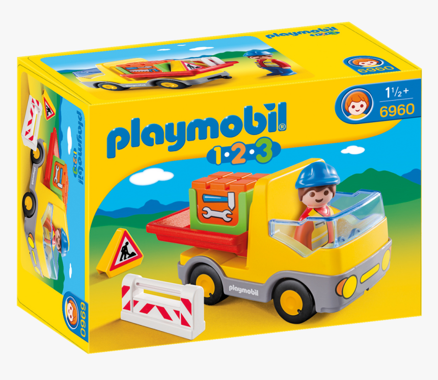 Playmobil 123 Construction Truck - Playmobil 123, HD Png Download, Free Download