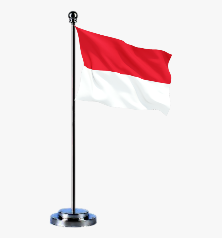 Bendera Indonesia Transparent Background Indonesia Flag Pole Png Png Download Kindpng