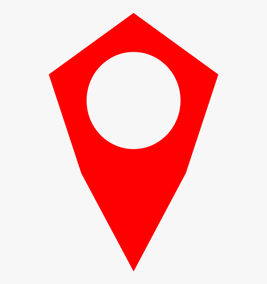 Red Location Icon Transparent, HD Png Download, Free Download